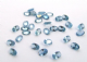 6x4mm Oval Lab Created Blue Zircon